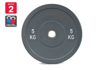 Set of 2 Fortis Bumper Weight Plate (5KG)