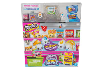 Shopkins New Families in Collectible Mini Pack - 22 Piece