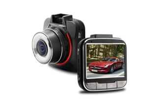 "Full Hd 1296P In Car Dvr Crash Camera Recorder 2.7"" Ips Lcd Gps Tag Gs52D"