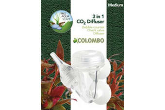 Colombo CO2 3-1 Diffuser (Clear)