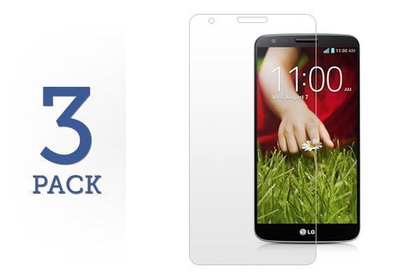 3 Pack Screen Protector for LG G2