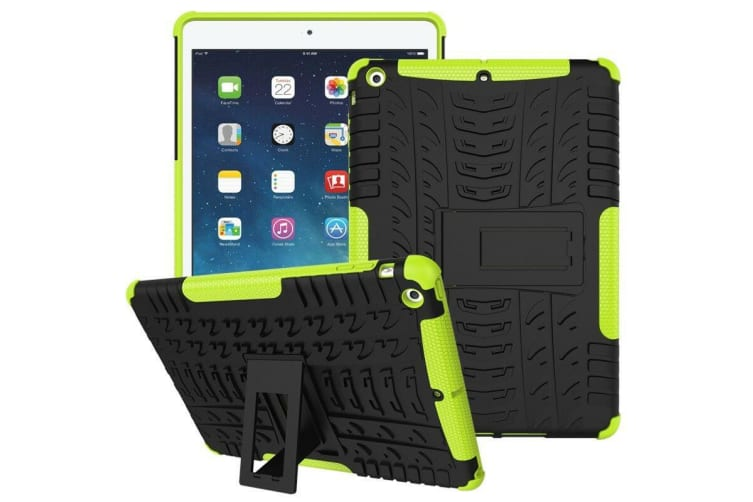 Heavy Duty Shockproof Case Cover Apple iPad 7th 10.2 2019-Green