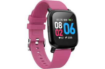 Bluetooth V5.0 Smart Watch Gps Track Heart Rate Blood Pressure 1.3&Quot; - Purple