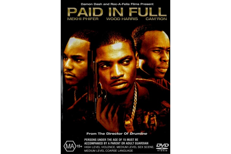 PAID IN FULL - Region 4 Rare- Aus Stock DVD Preowned: Excellent Condition