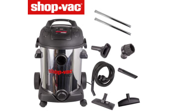 SHOP VAC 25L 1800W WET & DRY BAGLESS VACUUM CLEANER + BLOWER GARAGE WORKSHOP NEW