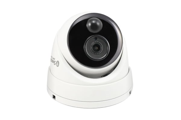Swann 3MP Thermal Sensing Dome Camera with True Detect and IR Night Vision (SWPRO-3MPMSD)