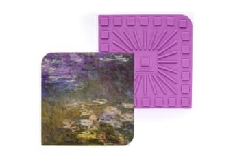 Modgy Water Lilies Silicone Trivet