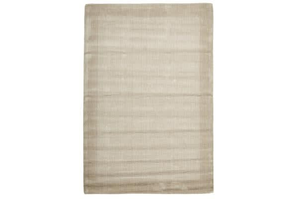 Cut and Loop Pile Rug Bone 280x190cm