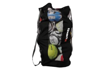 Summit Durable Mesh Ball Bag for Soccer/Football/Rugby/Sport