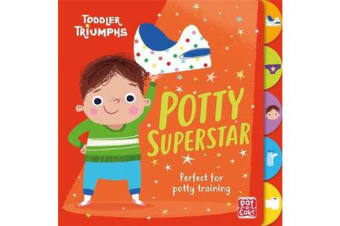 Toddler Triumphs: Potty Superstar - A potty training book for boys