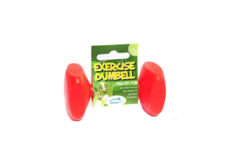 Happy Pet Small Animal Exercise Dumbbell (Red)