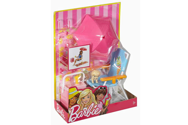 Barbie Furniture And Accessories Playset Beach Picnic