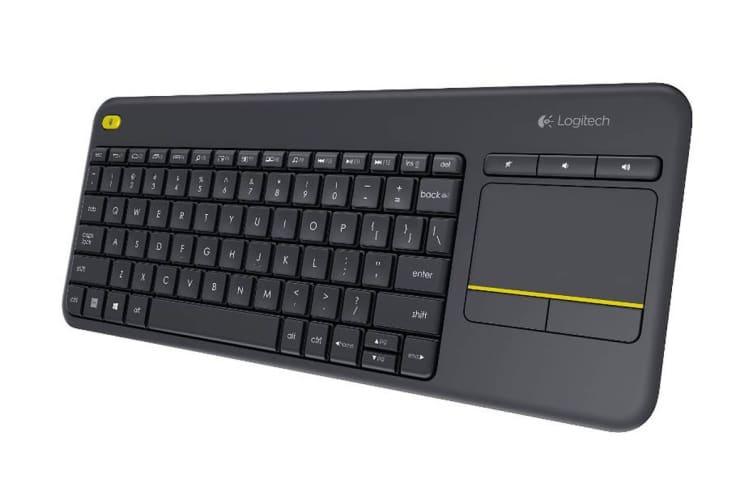 Logitech K400 Wireless Touch Keyboard Plus - Black(920-007165)