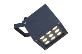 EX2601 LED Weatherproof Floodlight Tempered clear glass diffuser