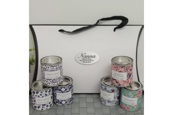 Nan Candle 6 Pack Gift Set