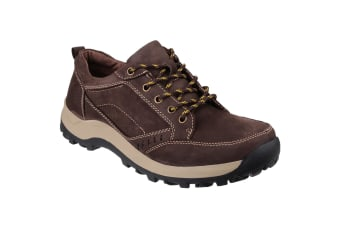 Cotswold Mens Nailsworth Lace Up Perforated Shoes (Brown) (11 UK)