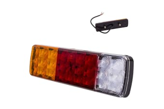 NEW LED COMBINATION REAR TAIL STOP INDICATOR REVERSE LIGHT LAMP UTE TRAY TRAILER