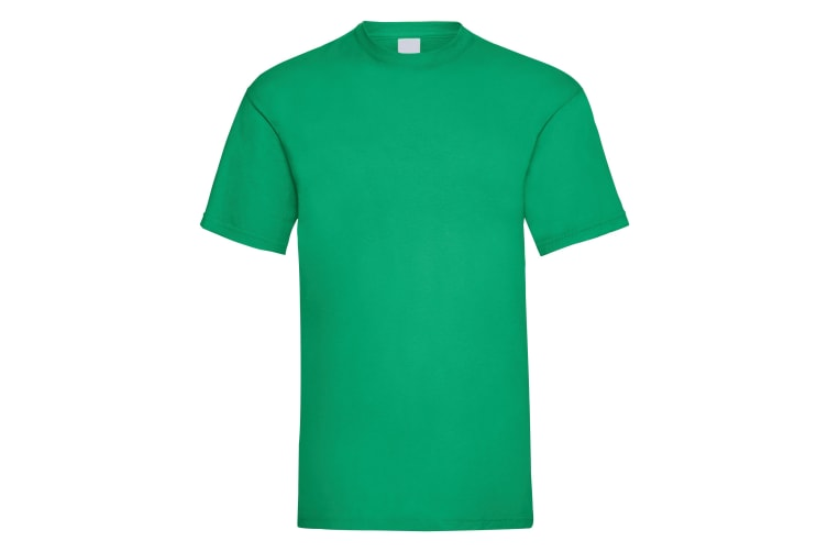 Mens Value Short Sleeve Casual T-Shirt (Green) (X Large)