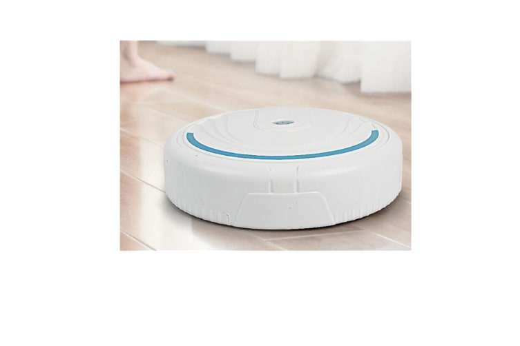 Select Mall Clean Robot Brush Floor Vacuum Cleaning Sweeper Robot Dust Catcher Intelligent Auto-Induction-WHITE