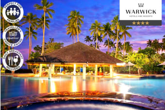 FIJI: 7 or 10 Nights at the Naviti Resort Fiji For Two Adults & Two Kids