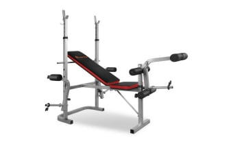 7-in-1 Weight Bench (Grey)