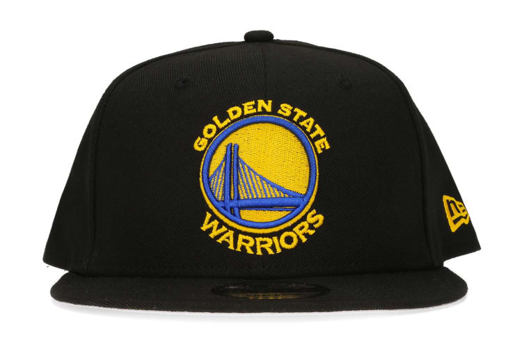 New Era Golden State Warriors 9FIFTY Adult Snapback Cap/Hat NBA Basketball Black