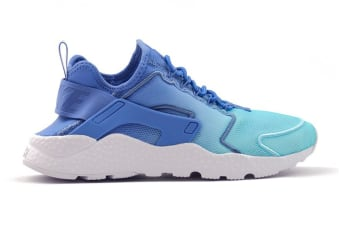 Nike Women's Air Huarache Run Ultra BR Running Shoe (Polar Blue/White, Size 7.5 US)