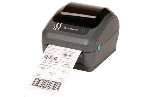 Zebra GK420D 2 Desktop 203dpi direct thermal Label Printer  tear bar