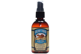 Lucky Tiger Head To Tail Deodorant And Body Spray