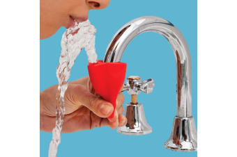 Tapi: Turns Any Tap Into a Drinking Fountain! - Light Blue