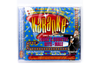 Karoake - Todays Country Hits (Male) BRAND NEW SEALED MUSIC ALBUM CD - AU STOCK