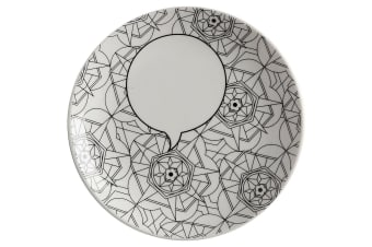 Maxwell & Williams 19cm Mindfulness Messages DIY Paint Plate Kaleidoscope