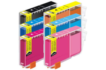 CLI-8 Compatible Inkjet Cartridge Set