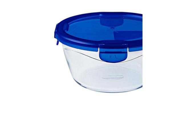 Pyrex Cook n Go 0.7L Round Dish w/ Lid