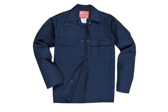 Portwest Mens Bizweld Work Jacket (Navy) (3XL)