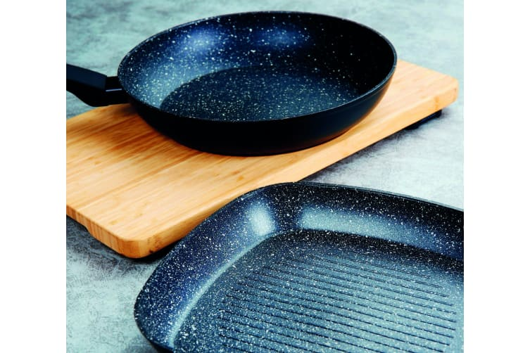 Marburg Non Stick Marble Stone Coating 20cm Frying Pan Frypan Cookware Induction