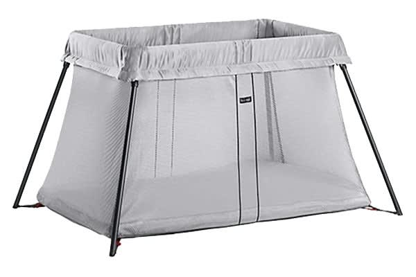 BabyBjorn Travel Cot Light (Silver Mesh)