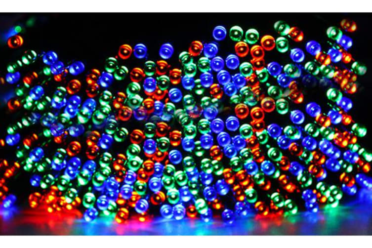 30M 300LED String Solar Powered Fairy Lights MULTI COLORS