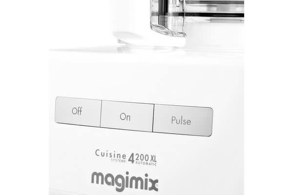 Magimix 4200XL Food Processor White w/ XL Feed Tube
