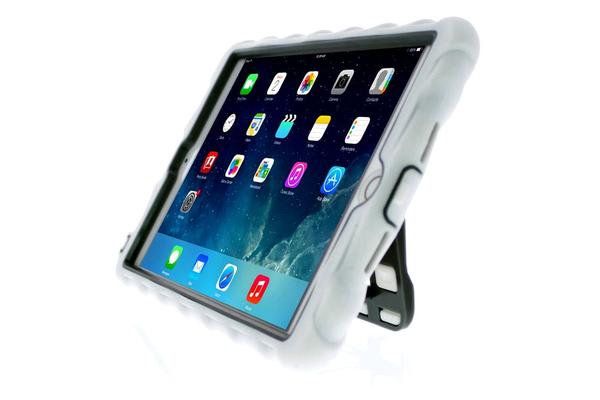 Gumdrop iPad Mini 3 Hideaway Case with Stand - White/Gray