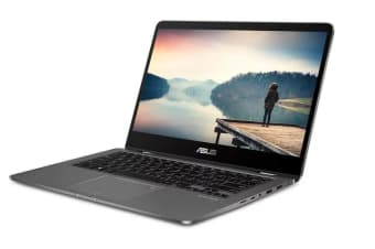 "ASUS 14"" Zenbook Flip i5-8250U 8GB RAM 256GB SSD GeForce MX150 Notebook (UX461UN-E1042R)"