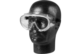 Glenwear PVC Safety Goggles (Clear) (One Size)