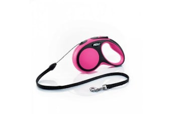 Flexi Comfort Cord Retractable Lead Pink - Small