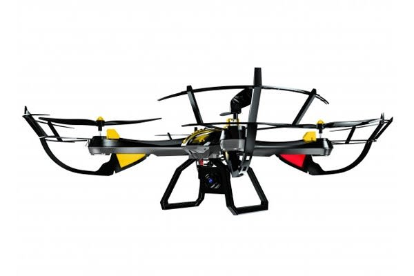 Swann Fly Eye Quadcopter with 720p Camera, Extra Battery and GoPro Bracket