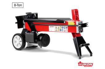 Yukon 240V Electric Log Splitter Wood Cutter - 8Ton