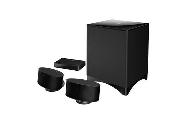 Onkyo LS3200 2.1 Channel Speaker System - Learns TV Remote - Stream Music from Mobile & PC - Black