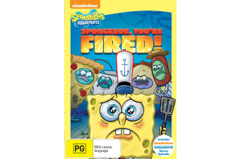 SpongeBob Squarepants Spongebob Youre Fired DVD Region 4
