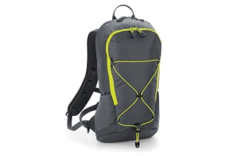 Quadra SLX-Lite 10 Litre Hydration Pack/Backpack (Graphite Grey) (One Size)