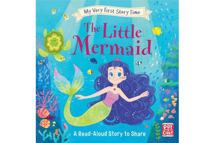 My Very First Story Time: The Little Mermaid - Fairy Tale with picture glossary and an activity