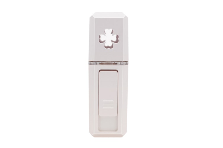 Select Mall Portable Cold Spray Water Meter USB Nano Large Spray Instrument Moisturizing Steam Face Humidifier-White